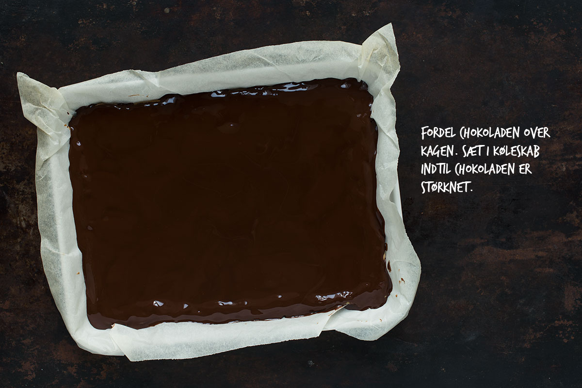Opskrift: Snickerskage | Frk. Kræsen