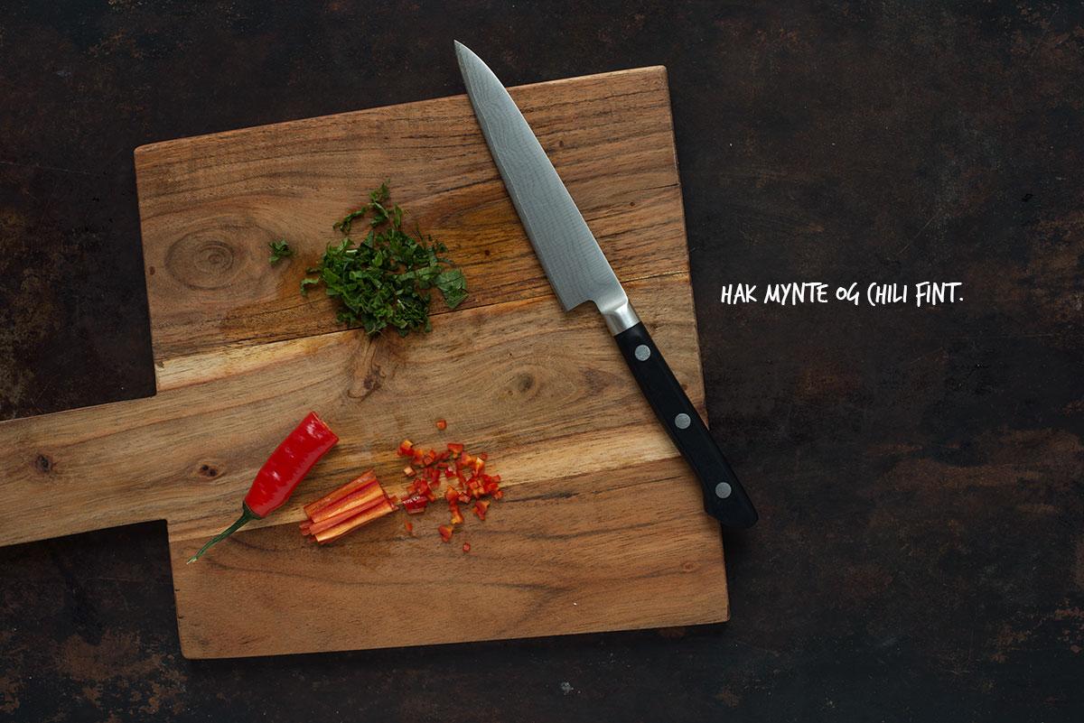 Opskrift: Friske vietnamesiske forårsruller med oksekød og mango | Frk. Kræsen