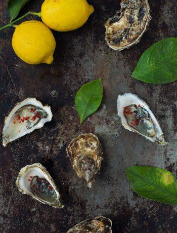 Opskrift: 2 måder at servere østers | Frk. Kræsen