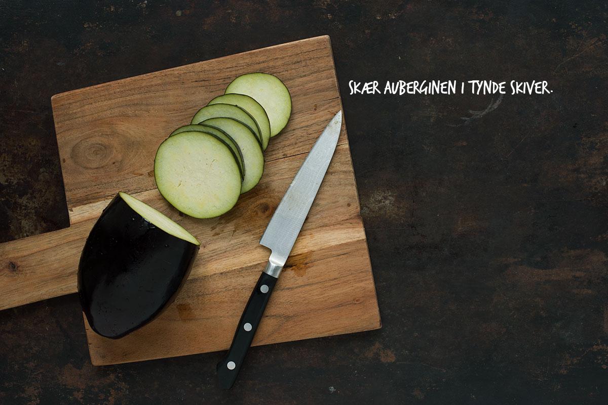 Opskrift: Pizza med aubergine, granatæble og mynte | Frk. Kræsen