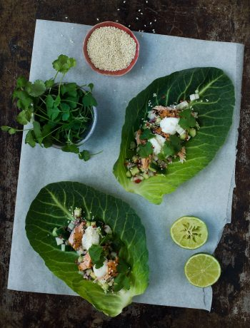 Opskrift: Taco med spidskål og laks | Frk. Kræsen