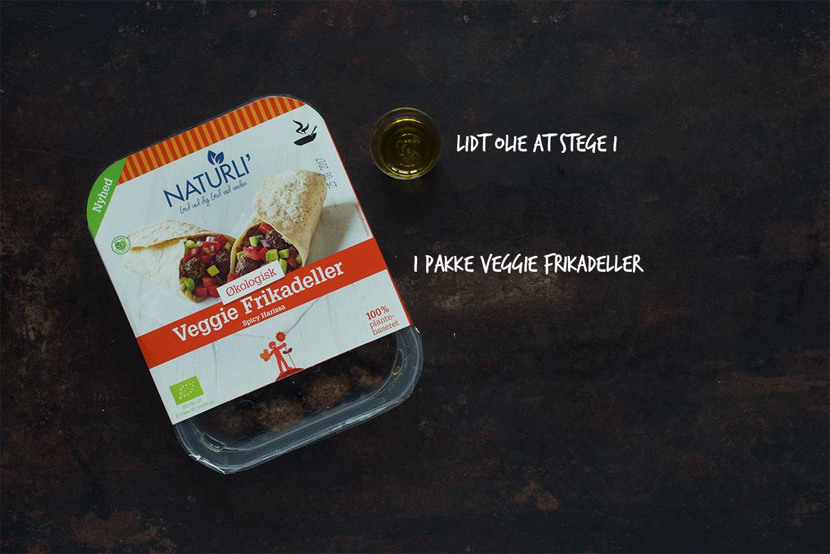 Opskrift: Spicy kålsalat med veggie frikadeller | Frk. KræsenOpskrift: Spicy kålsalat med veggie frikadeller | Frk. Kræsen