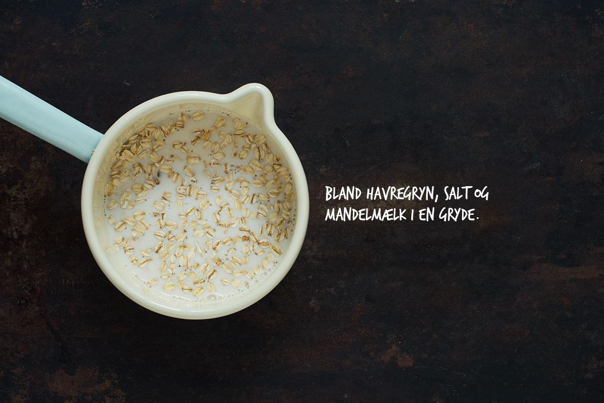 Opskrift: Havregrød med bagte blommer og skyr | Frk. Kræsen