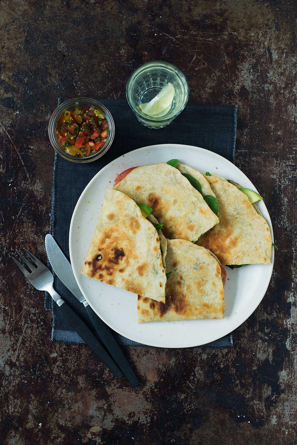 Opskrift: 2 slags forskellige quesadillas | Frk. Kræsen