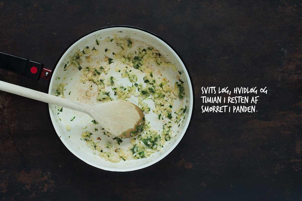 Opskrift: Risotto med svampe og grønkål | Frk. Kræsen