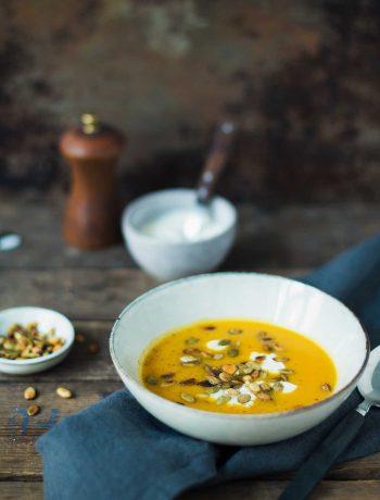 Opskrift: Græskarsuppe med frisk salvie | Frk. Kræsen