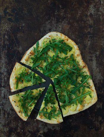 Opskrift: Kartoffelpizza | Frk. Kræsen