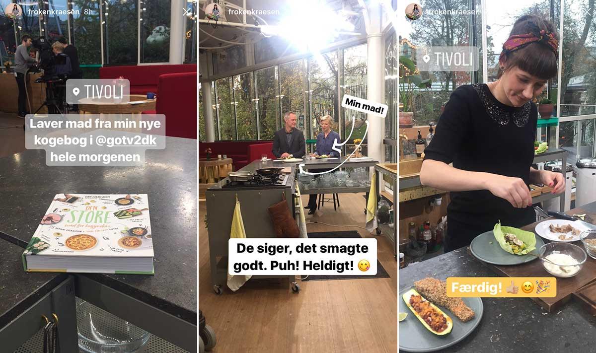 Frk. Kræsen i Go' Morgen Danmark