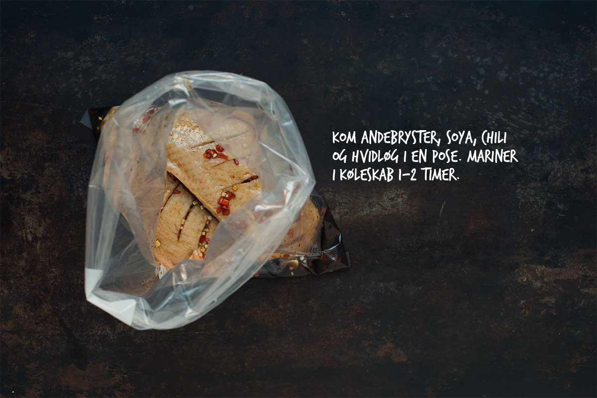 Opskrift: Sandwich med andebryst | Frk. Kræsen