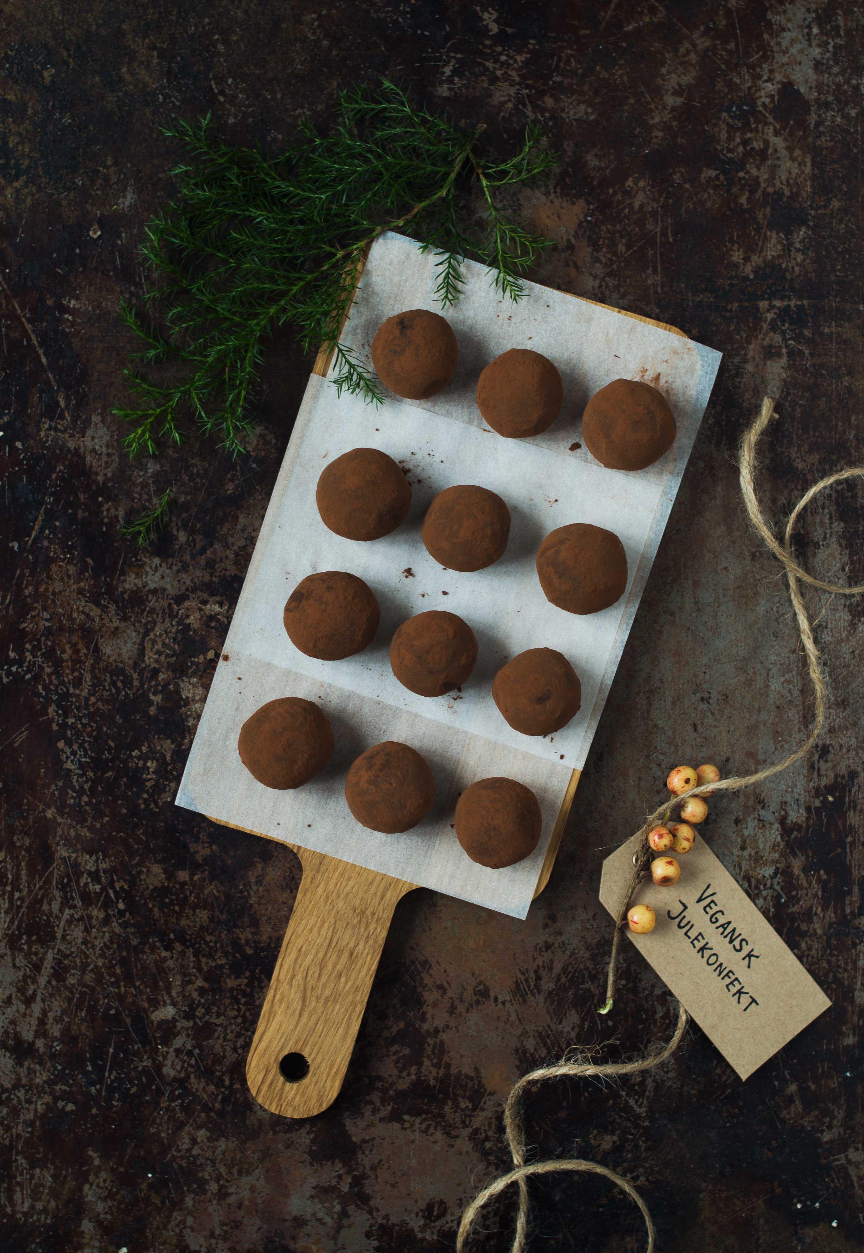 Opskrift: Sund vegansk julekonfekt | Frk. Kræsen