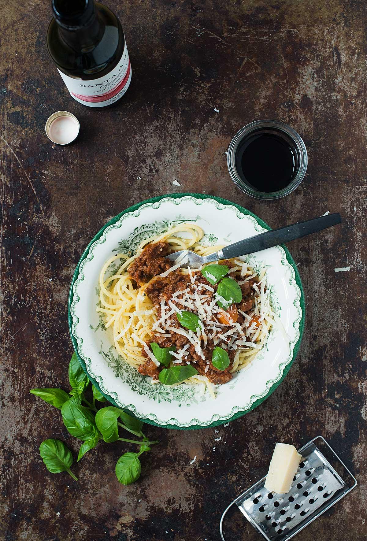 Opskrift: Spaghetti bolognese | Frk. Kræsen