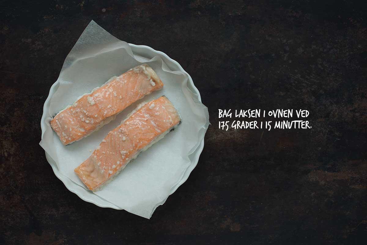 Opskrift: Pasta med laks og pesto | Frk. Kræsen