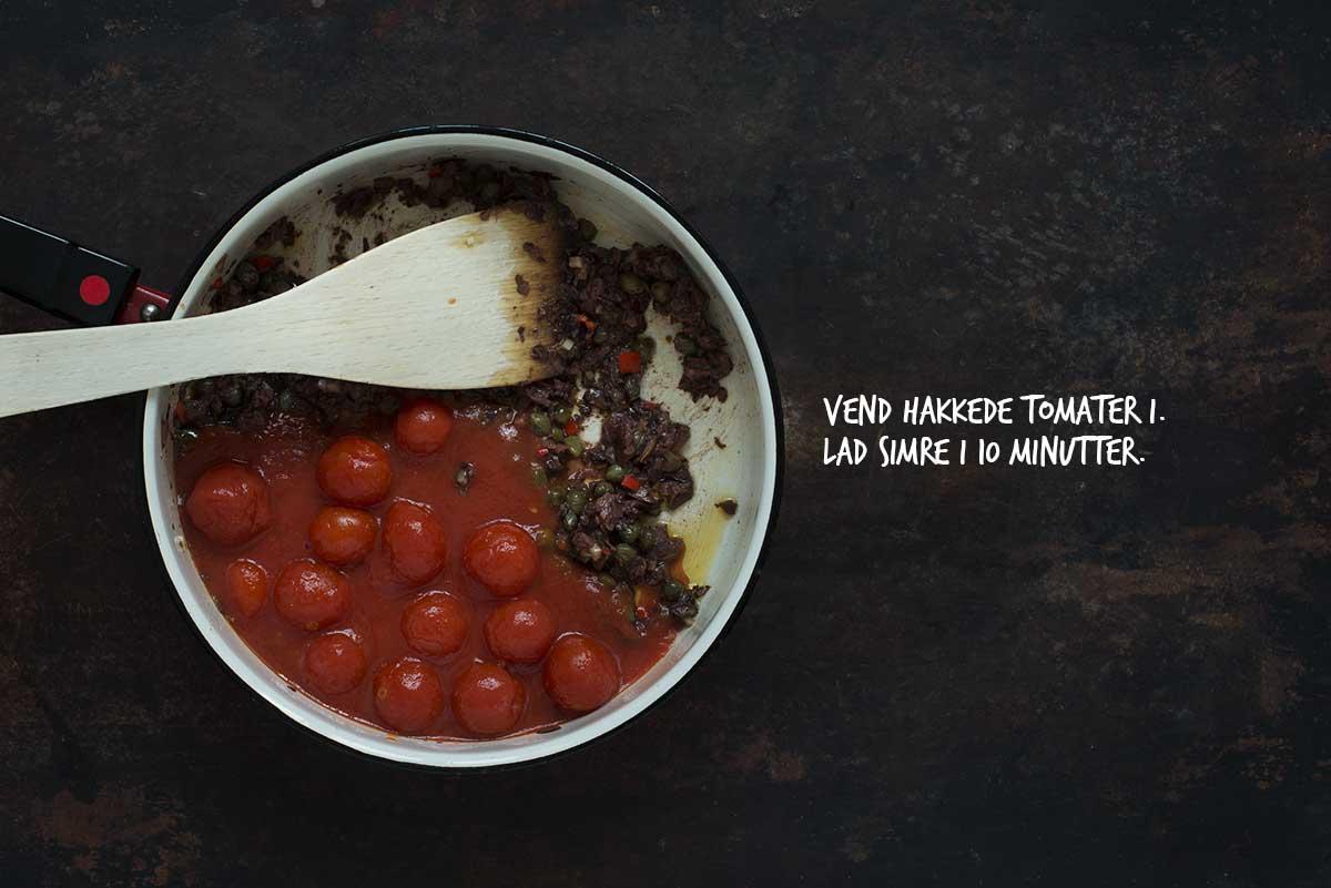 Opskrift: Pasta alla Puttanesca | Frk. Kræsen