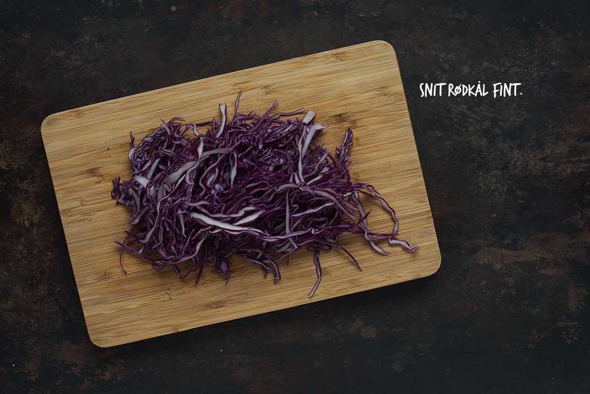 Råkostsalat med rødkål | Nem og lækker opskrift på salat