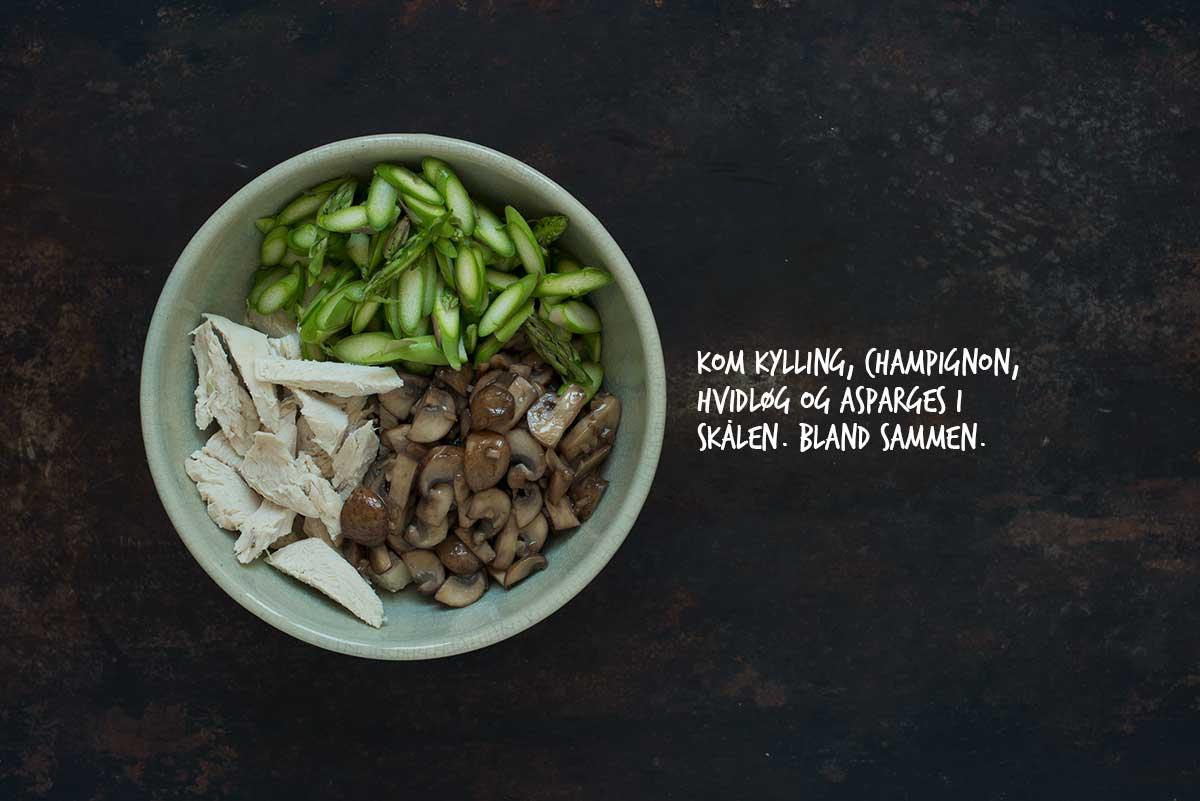 Opskrift: Hønsesalat | Frk. Kræsen