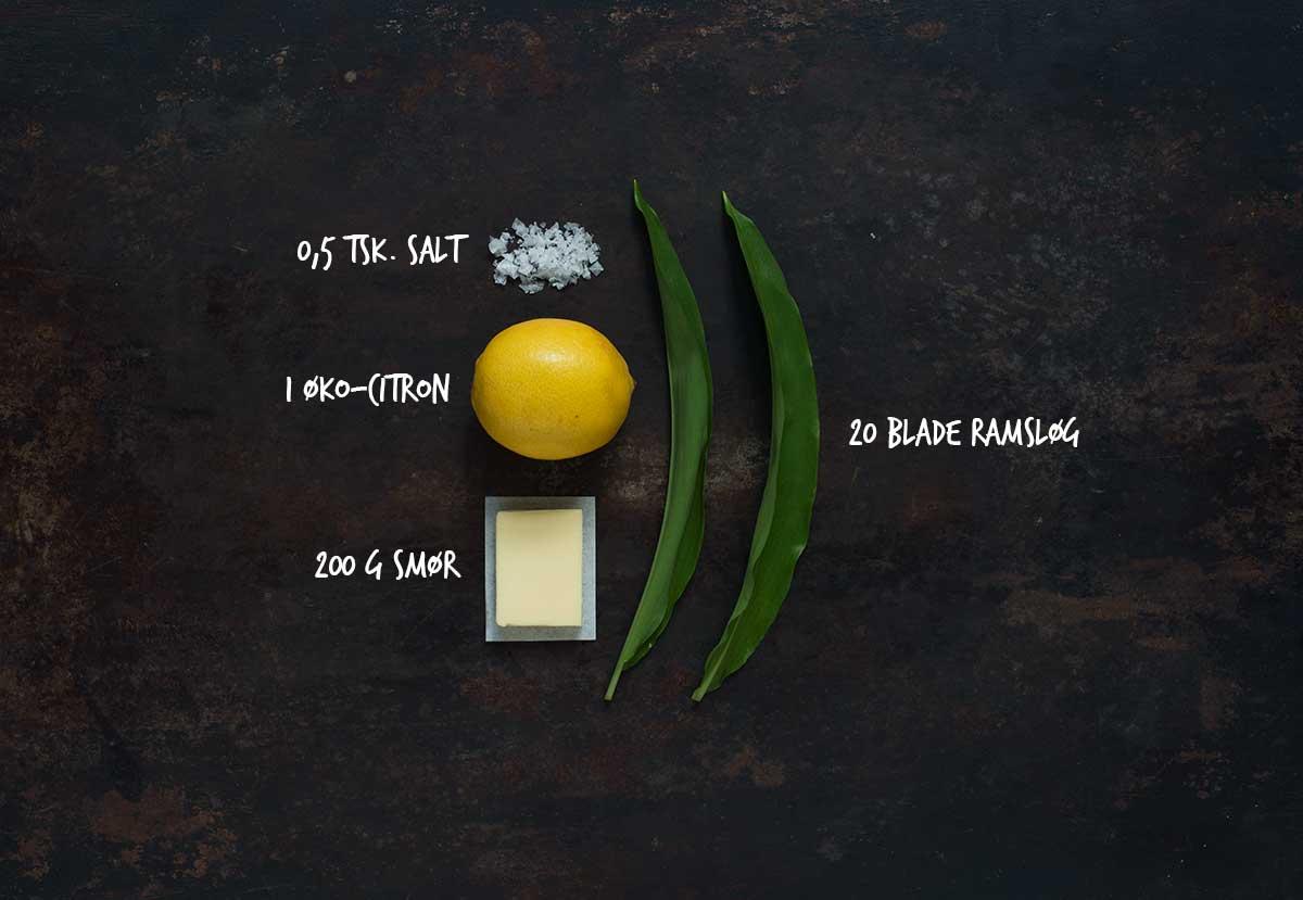 Opskrift: Kryddersmør med ramsløg | Frk. Kræsen