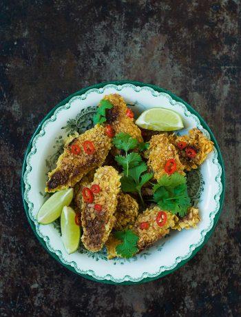 Opskrift: Chicken nuggets | Frk. Kræsen