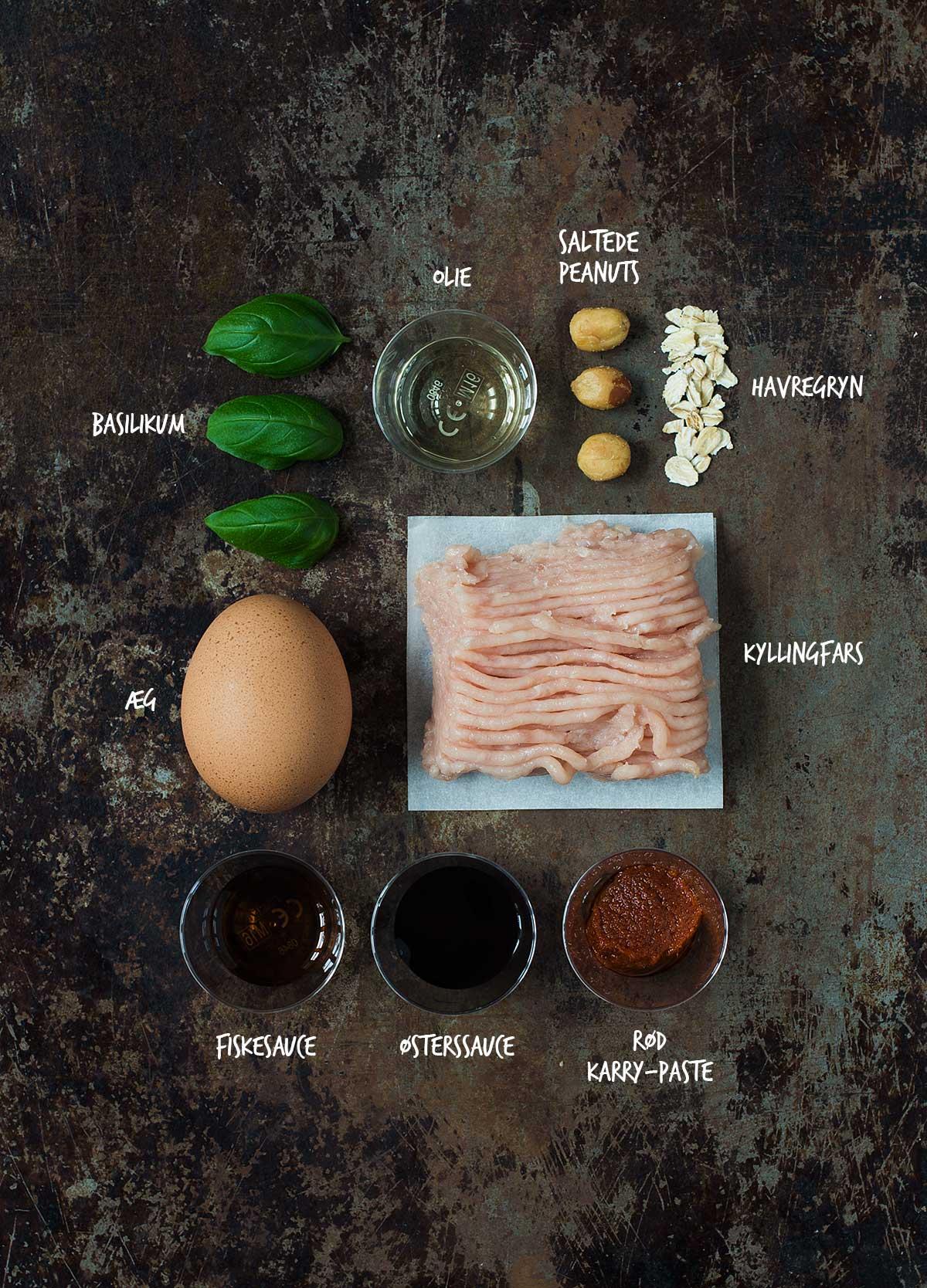 Opskrift: Kyllingfrikadeller | Frk. Kræsen