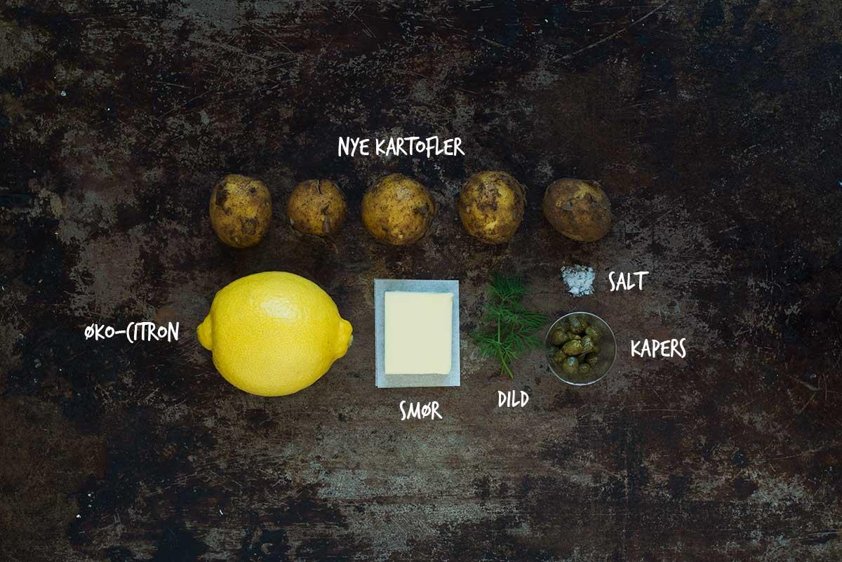 Opskrift: Nye kartofler med brunet smør | Frk. Kræsen