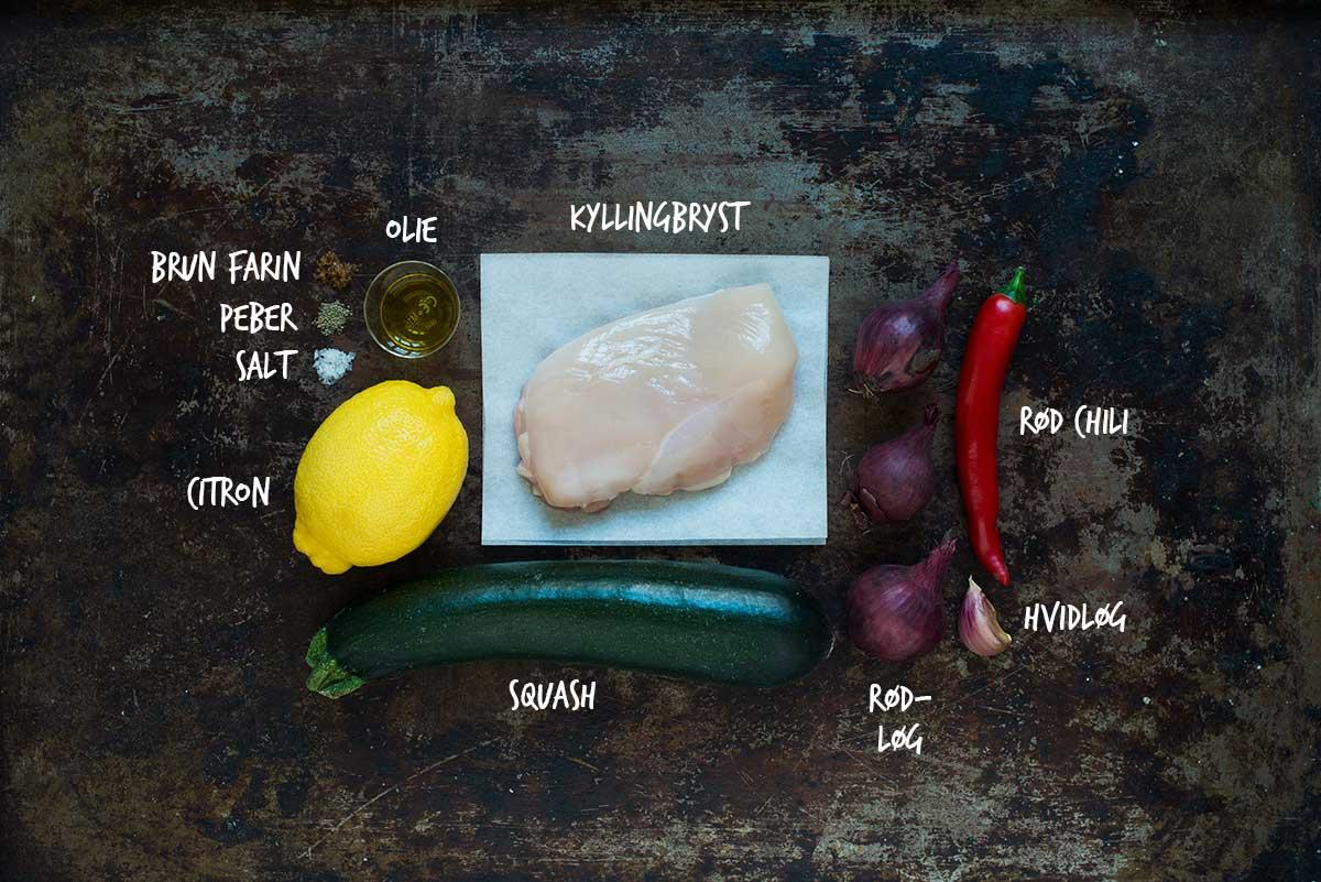 Opskrift: Grillspyd med kylling | Frk. Kræsen