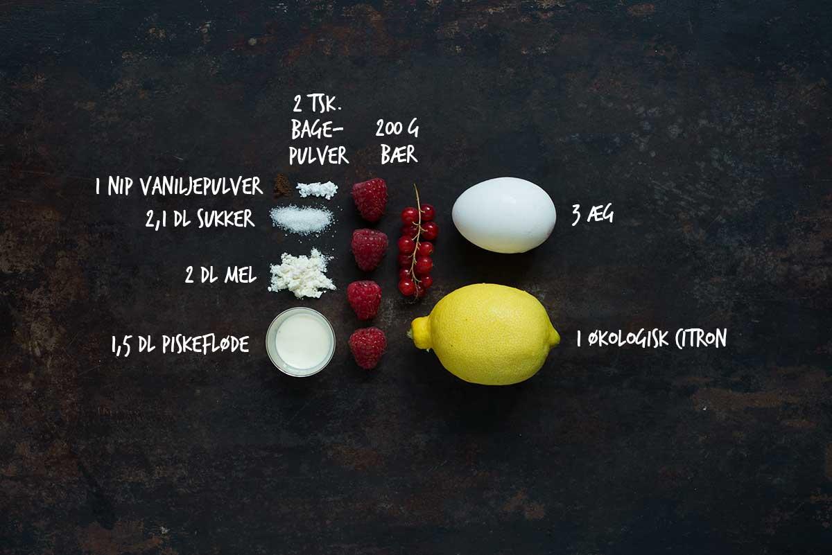 Opskrift: Roulade med bær | Frk. Kræsen