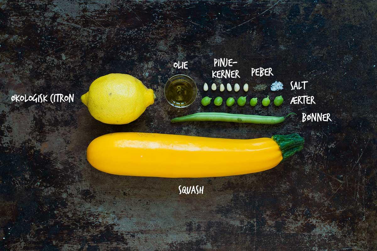 Opskrift: Salat med bønner og squash | Frk. Kræsen