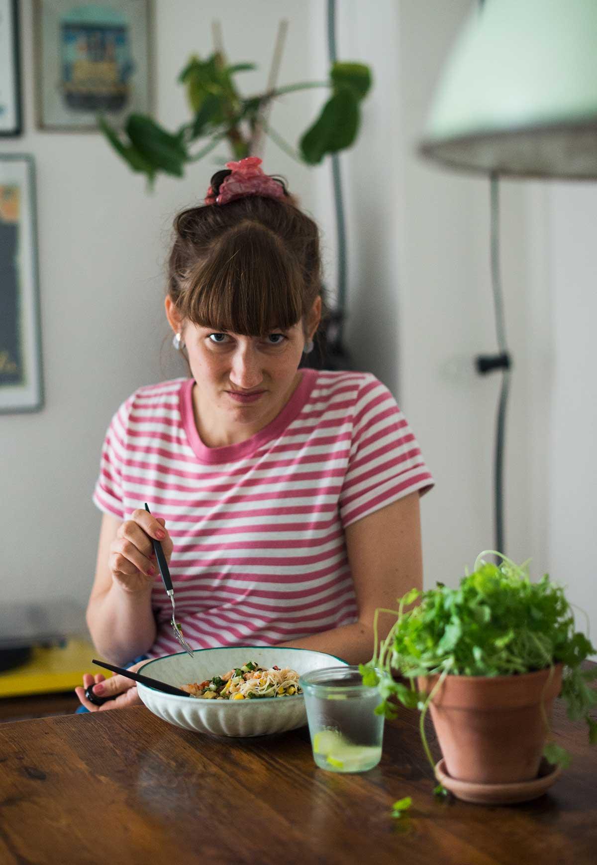 Jeg lærer at spise koriander | Frk. Kræsen