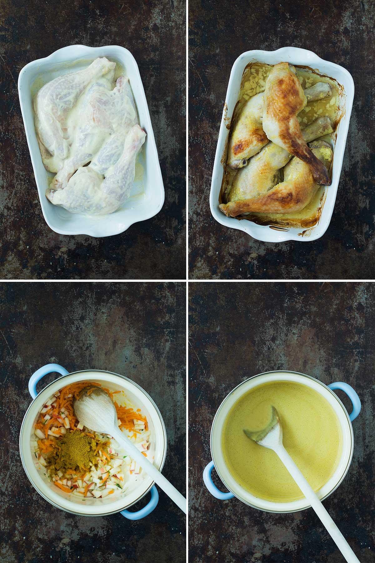 Opskrift: Kylling i karry | Frk. Kræsen