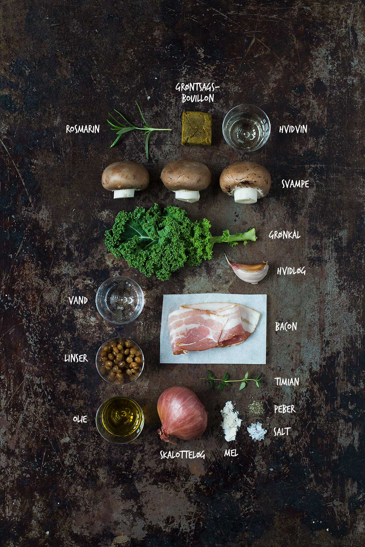 Opskrift: Gryderet med svampe, linser og bacon | Frk. Kræsen