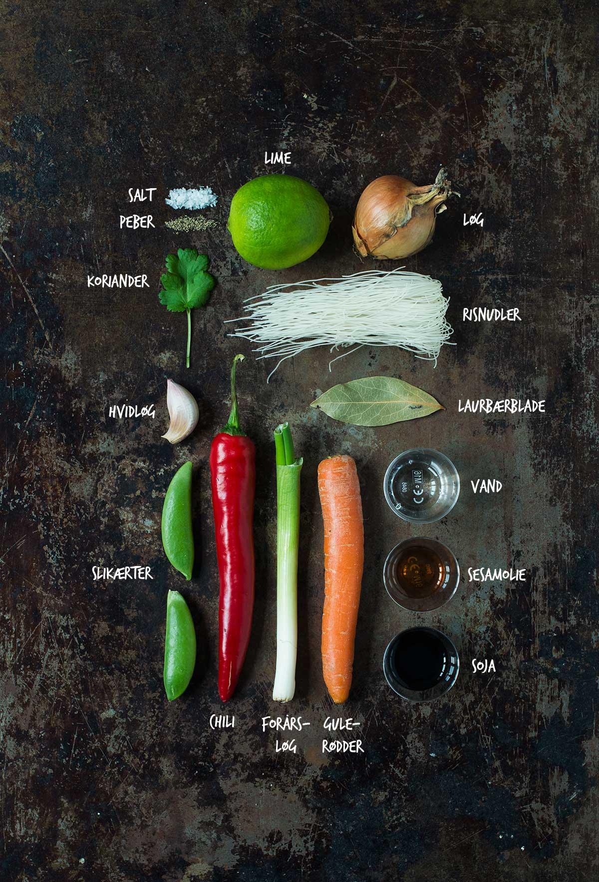 Opskrift: Asiatisk kyllingesuppe | Frk. Kræsen