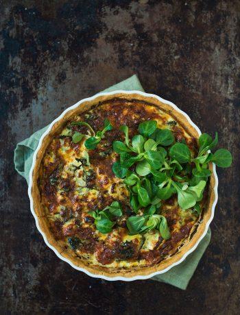 Opskrift: Broccolitærte med fetaost | Frk. Kræsen