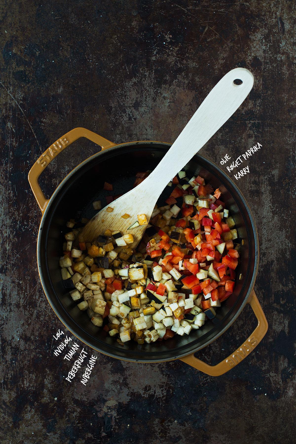 Opskrift: Vegetarisk bolognese | Frk. Kræsen