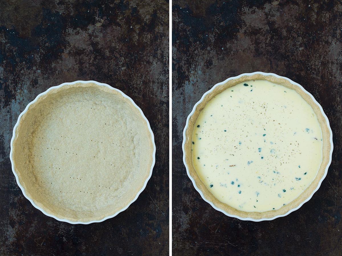 Opskrift: Bacontærte / Quiche lorraine | Frk. Kræsen