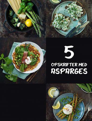 Opskrifter med asparges | Frk. Kræsen
