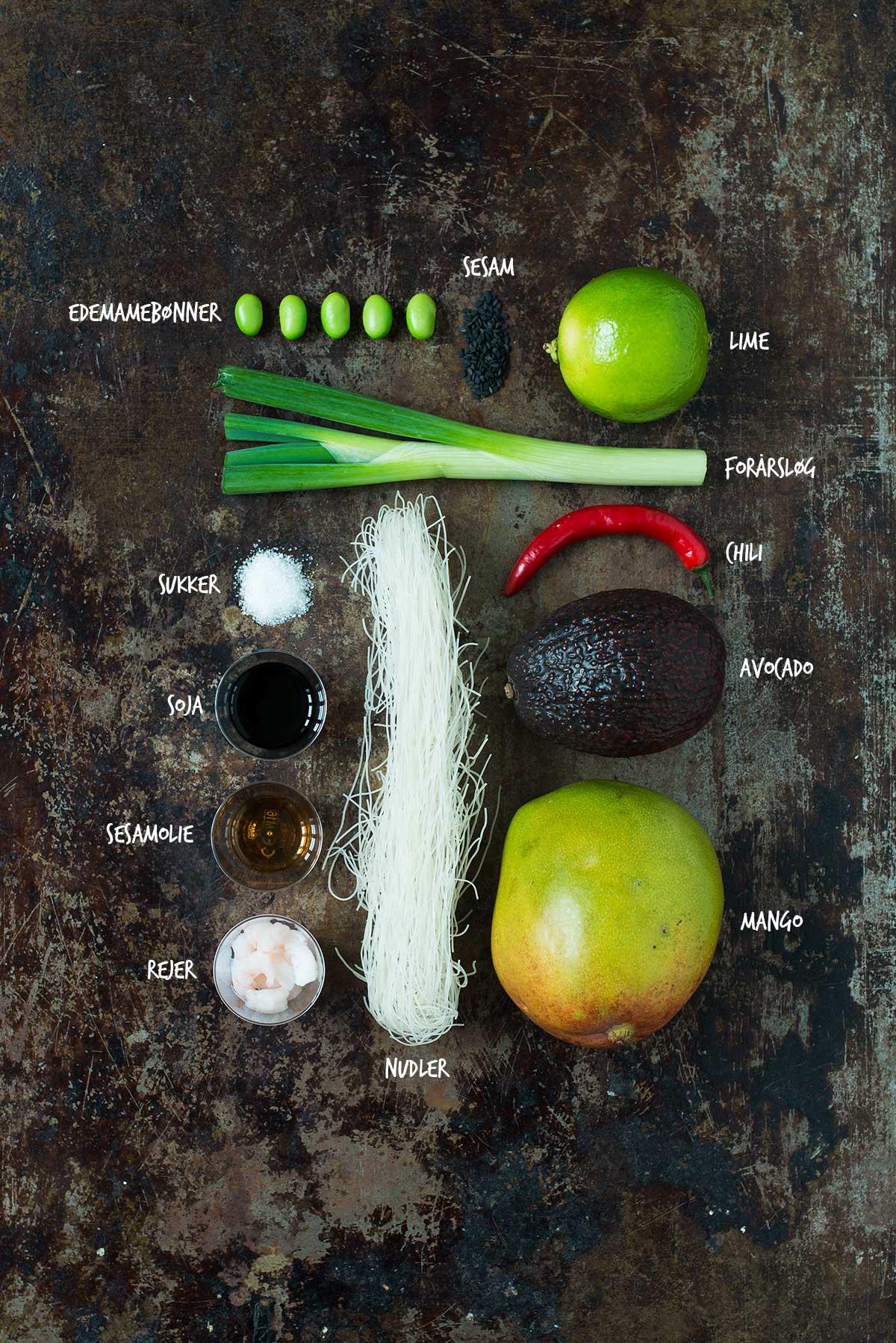 Opskrift: Nudelsalat med rejer | Frk. Kræsen