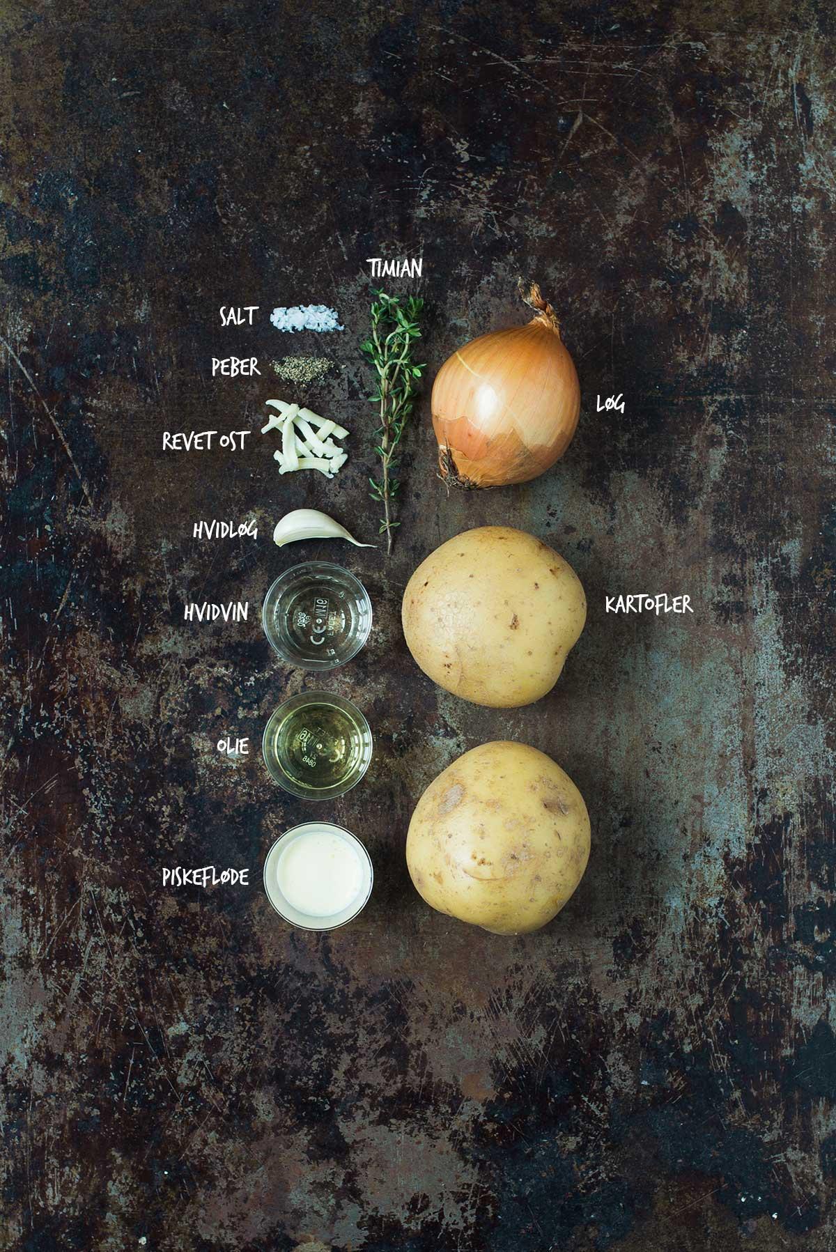 Opskrift: Flødekartofler | Frk. Kræsen