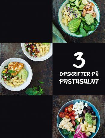 3 opskrifter på pastasalat | Frk. Kræsen
