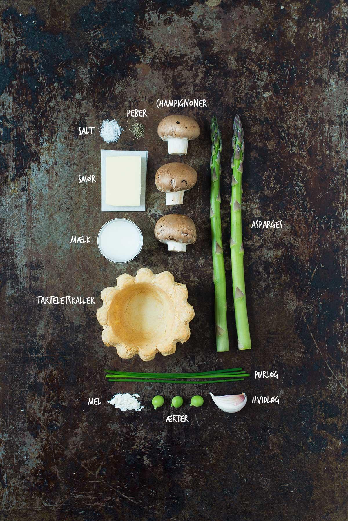 Opskrift: Vegetariske tarteletter | Frk. Kræsen